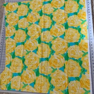 36x30 Lilly Pulitzer first impressions fabric SYFI